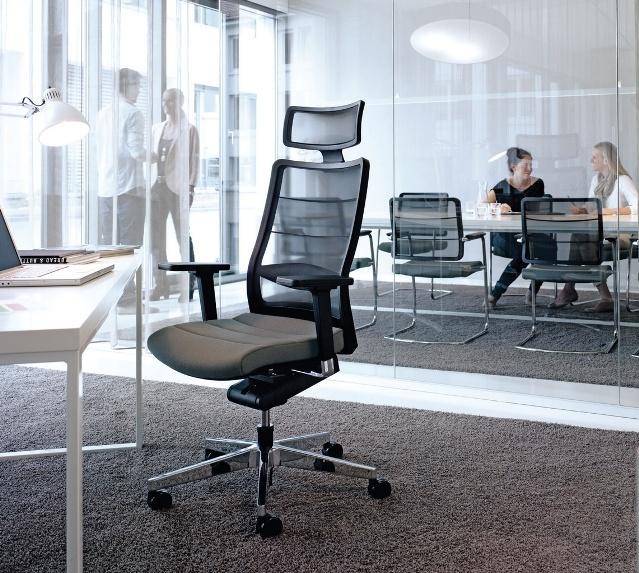 Кресло AirPad, кожаное эргономичное кресло